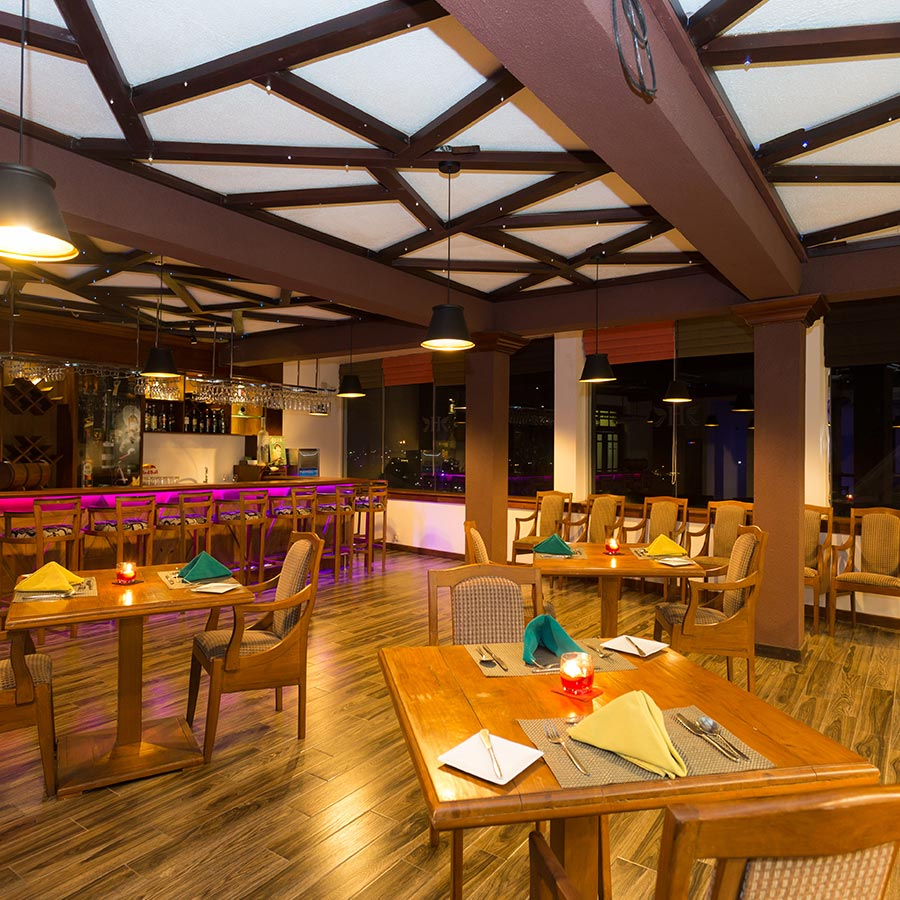 Dining Area of a Hotel in Nuwara Eliya