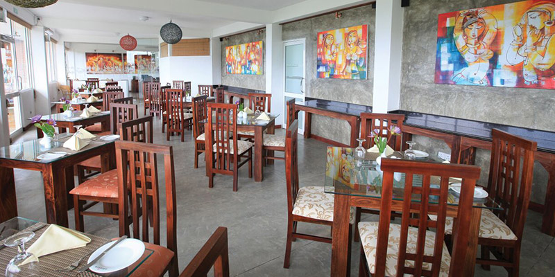 Dining Area of Hotel in Kandy