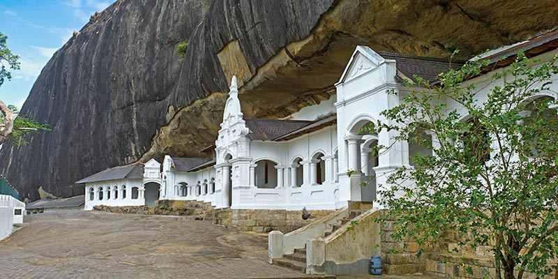 Cave Temple in Dambulla