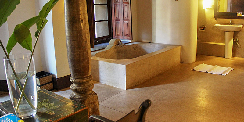 Luxury Rooms in Galle Fort Hotel