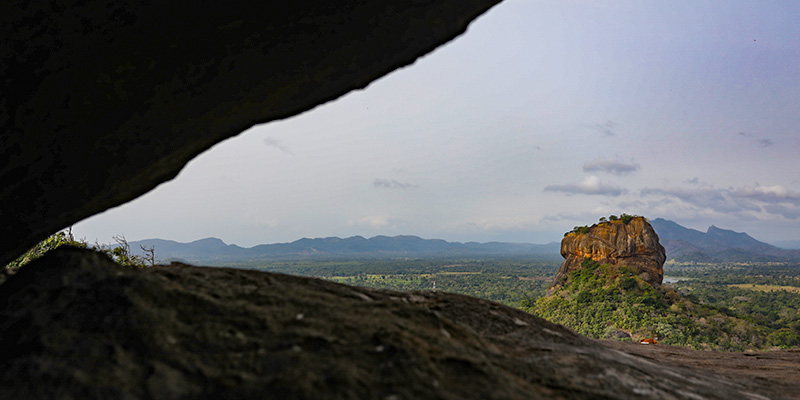 Sigiriya from the Pidurangala