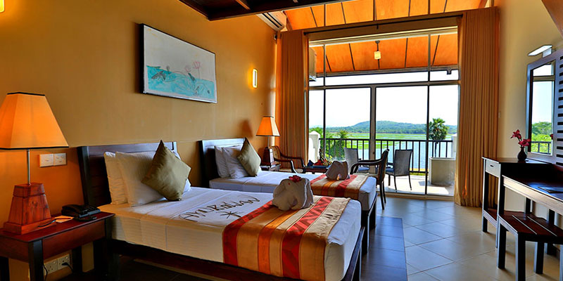 Luxury Rooms in a Hotel in Habarana