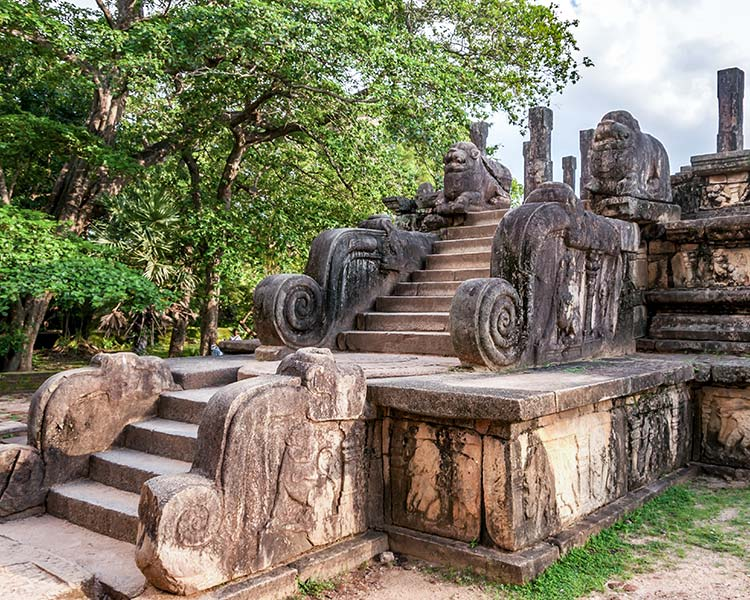 Polonnaruwa Kingdom Ancient Ruins