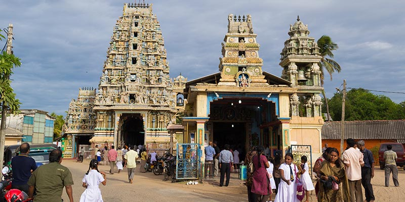 Hindu Temple in Trincomalee