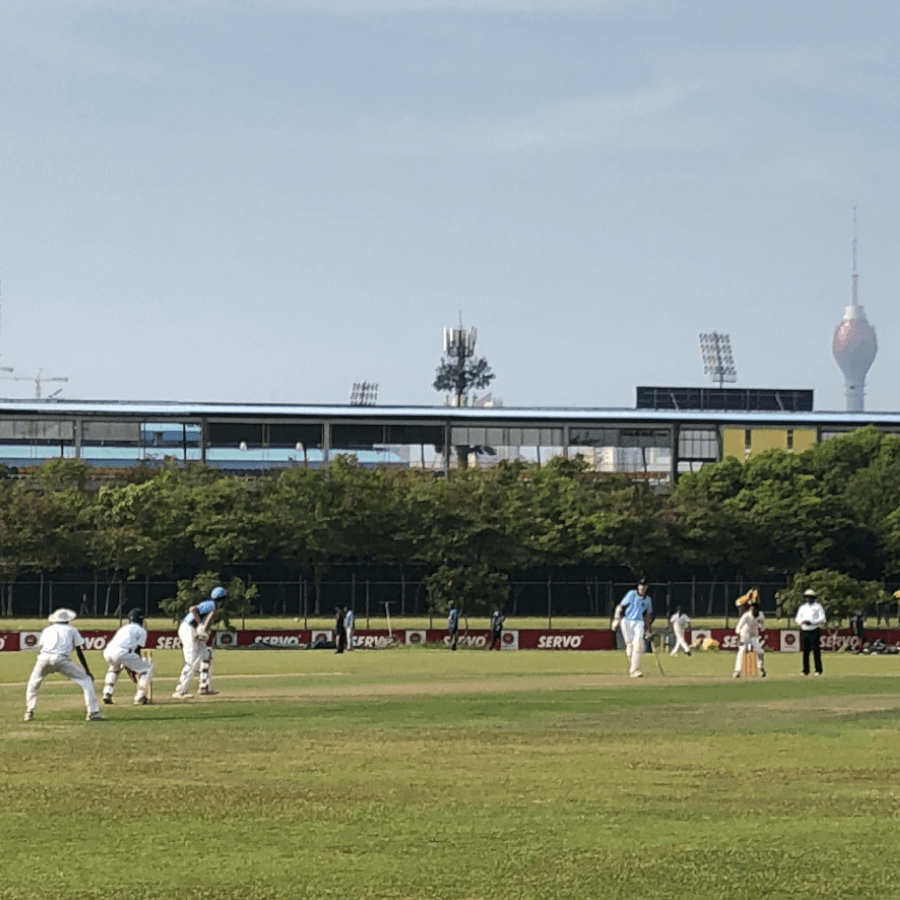 Cricket Match in Colombo