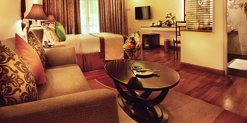Luxury Room in a Hotel in Kandy