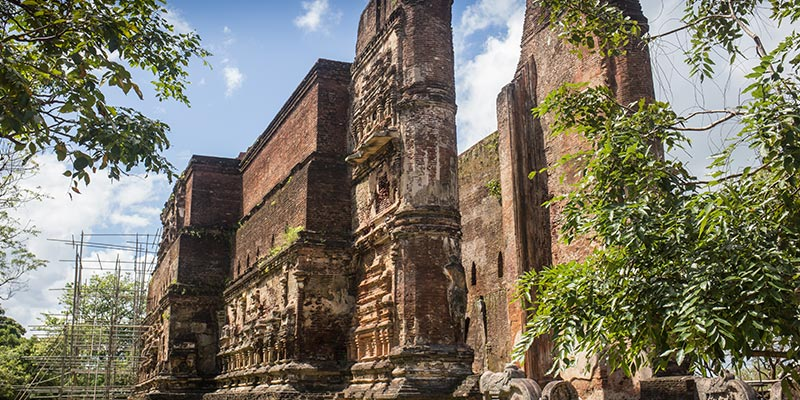Ancient Ruins in Polonnaruwa