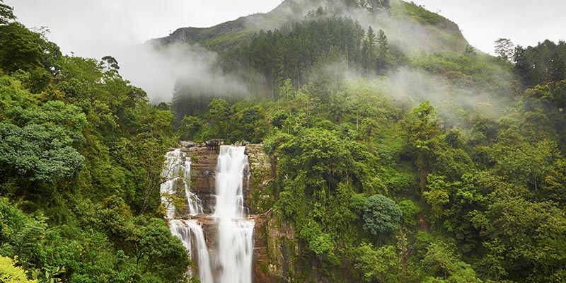 St. Clair's Waterfall Nuwara Eliya