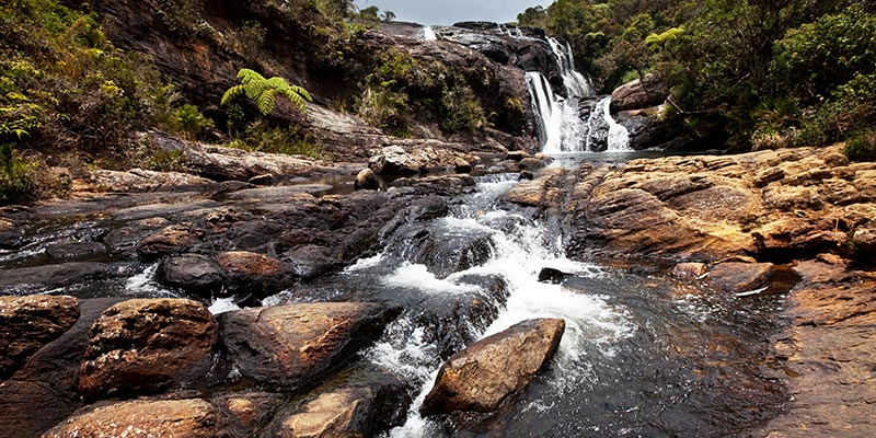 Bakers Falls in Horton Place