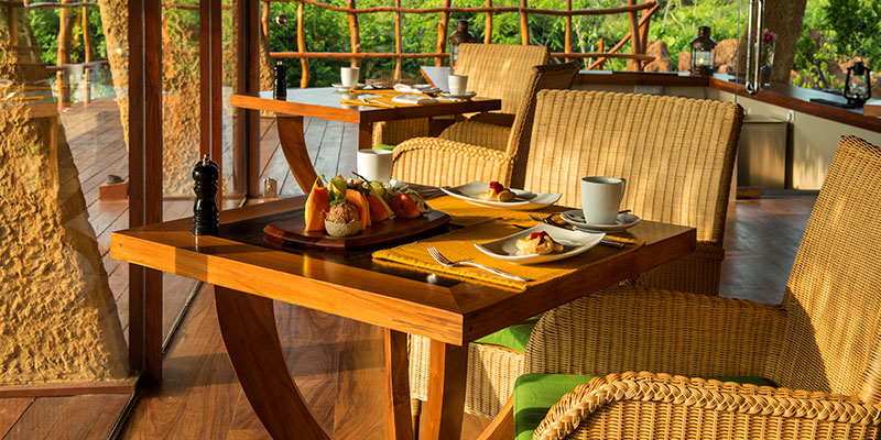 Coffee Table at a Resort in Yala