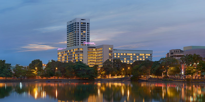 Evening View of Hotel in Colombo
