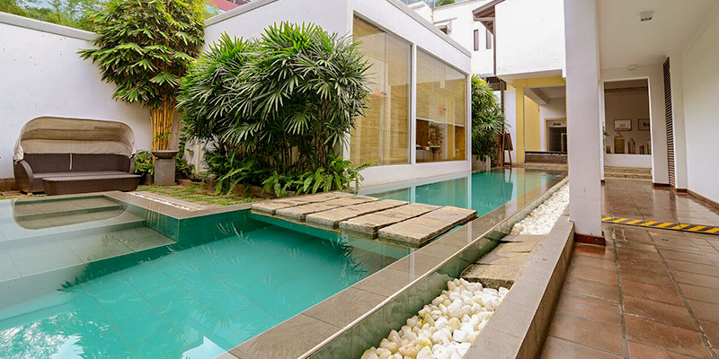 Relaxation Area of Hotel in Colombo