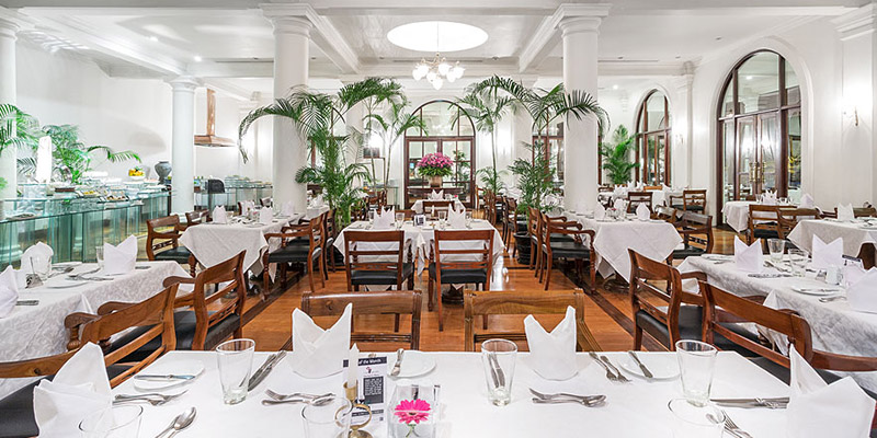 Dining Area of a Hotel in Mount Lavinia