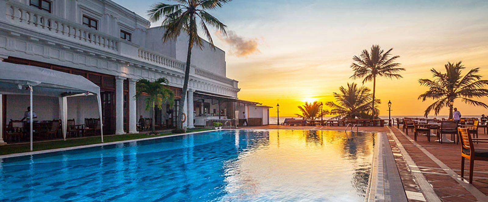 Swimming Pool of Hotel in Mount Lavinia