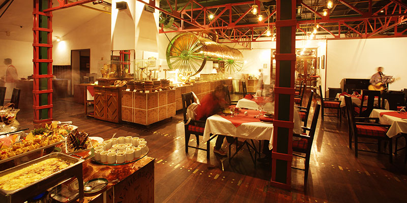 Dining Area of a Hotel in a Kandy