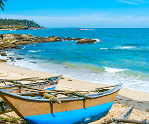 Fishing Boats in the Beach