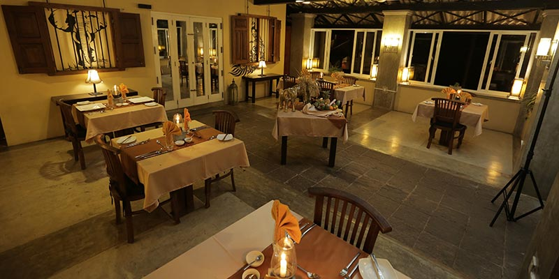 Dining Area of a Hotel in Kandalama